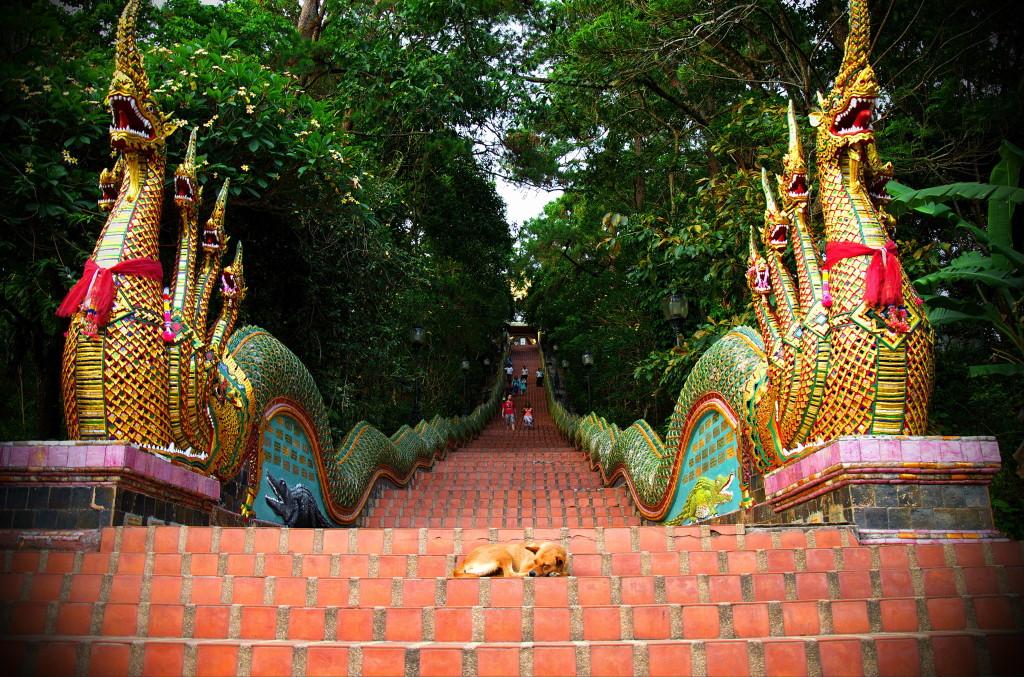 Doi Suthep Temple, Wat Phra That - Tieland to Thailand
