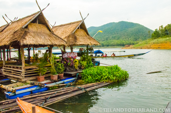 Mae Ngat Dam Floating Houses Tieland To Thailand