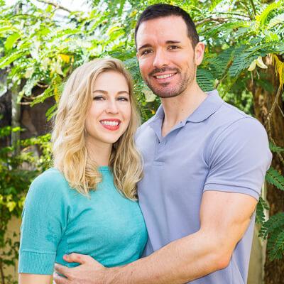 Chris and Angela